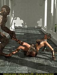 Insane 3D Free Sample Colonnade