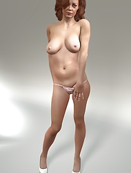 Nude Ladies Not far from 3D