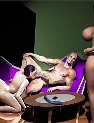 3D Gangbangs