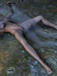 Nude Landowners In 3D